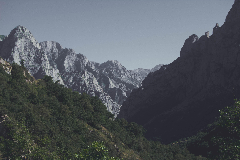 Paisaje ruta V - Cascada de Mazobre
